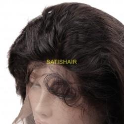 "10"" Frontal Lace Wigs Ondulé"