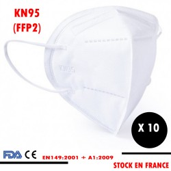 10 x MASQUE DE PROTECTION...