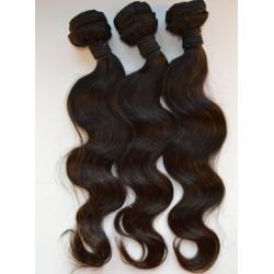 Lot de 3 paquets 18 pouce - ondulé remy hair tissage brésilien big wave