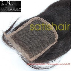 LACE CLOSURE LISSE 10""