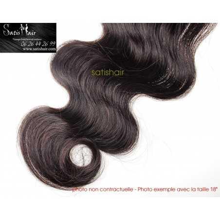 Lot de 3 paquets 28 pouce - ondulé remy hair tissage brésilien big wave