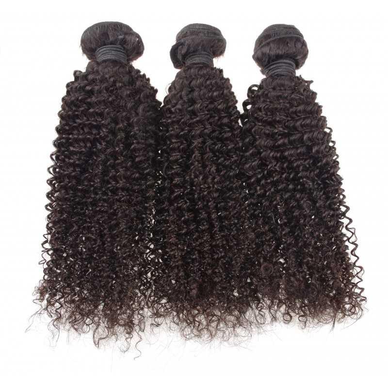 Lot de 3 paquets 12 pouce - ondulé remy hair tissage brésilien big wave