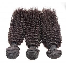Lot de 3 paquets 20 pouce - frisé Remyhair tissage brésilien curly