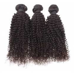 Lot de 3 paquets 12 pouce - ondulé remy hair tissage brésilien big wave