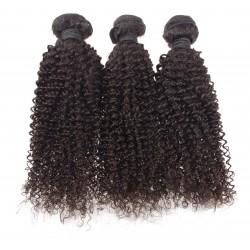 Lot de 3 paquets 22 pouce - frisé Remyhair tissage brésilien curly
